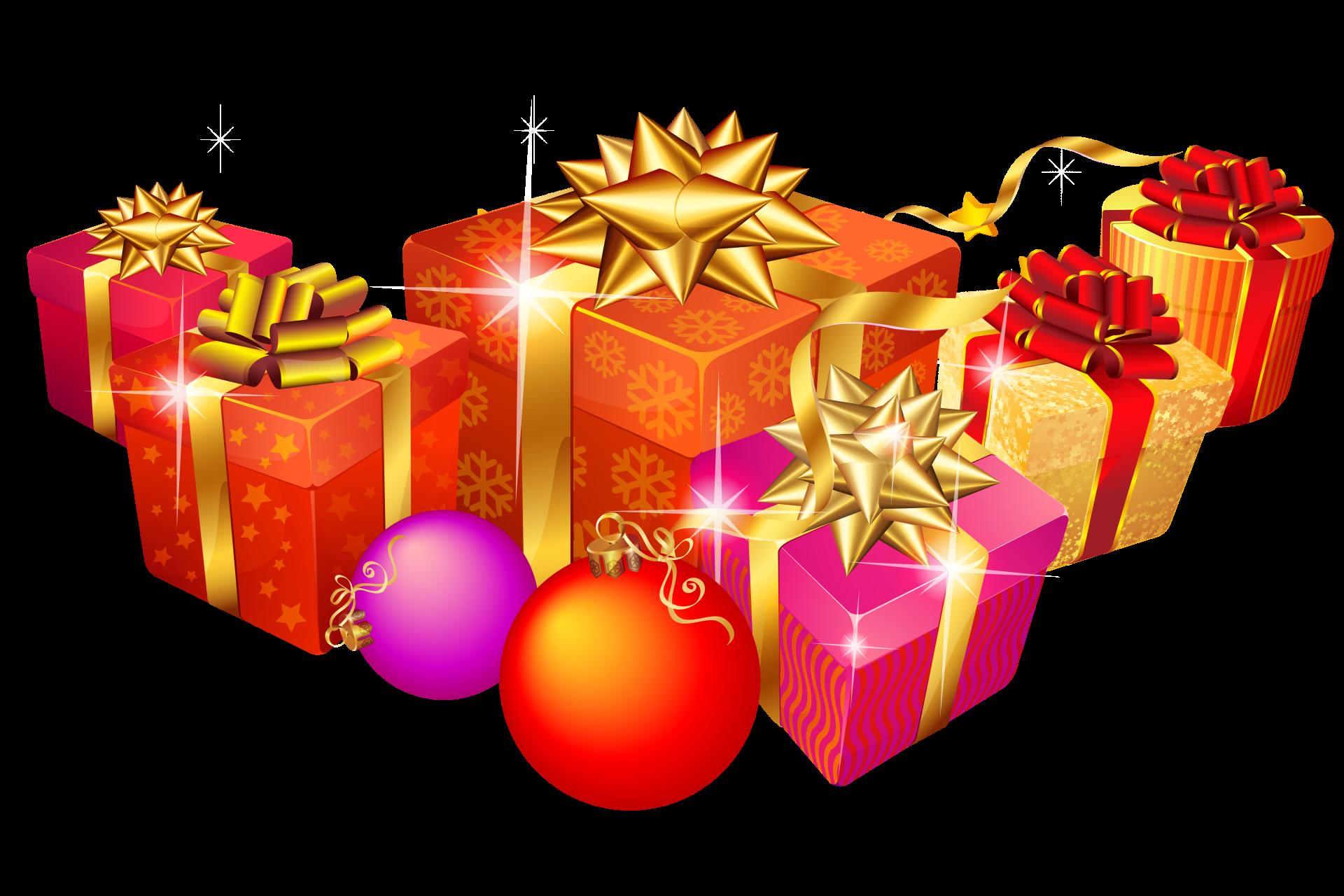 Подарки новогодние картинка для детей